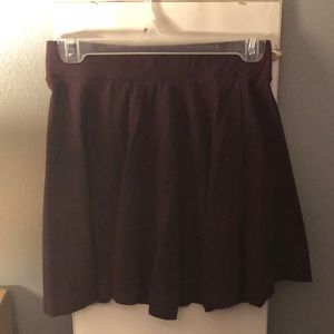 Maroon/plum skater skirt, size Small from H&M!